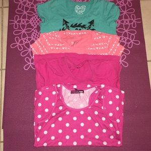 Other - Bundle of 4 girls Tees
